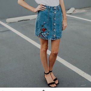 Blu Pepper Skirt